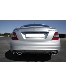 Diffuseur arrière C63 AMG pour toutes Mercedes Classe C W204 Berline (-03/2011)