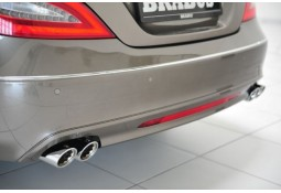 Silencieux arrière Brabus pour Mercedes CLS Shooting Brake (X218) 4 Cylindres Diesel