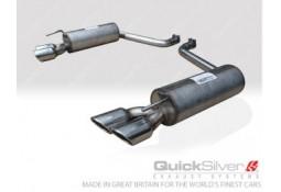 Silencieux arrière Inox QuickSilver Sport pour Jaguar XF 3.0 Diesel et Diesel S (2009-)