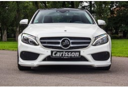 Spoiler avant Carlsson pour Mercedes Classe C (W205) (2014-) Pack AMG