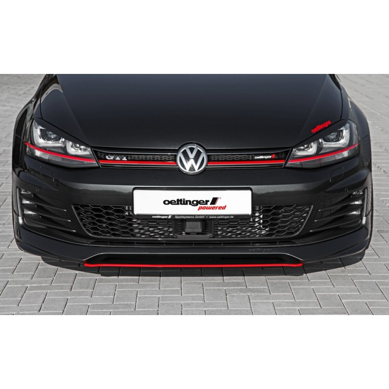 spoiler avant oettinger pour golf vii gti gtd suprcars. Black Bedroom Furniture Sets. Home Design Ideas