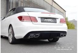 Diffuseur arrière + embouts échappement MEC DESIGN pour Mercedes Classe E (C207) Pack AMG (-2013)