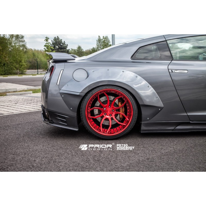 Extensions D Ailes Prior Design Pd750 Widebody Pour Nissan