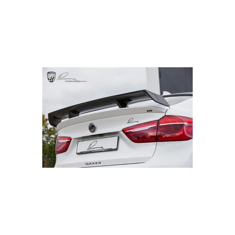 becquet de coffre gt carbone lumma design clr x6 r pour bmw x6 f16 suprcars. Black Bedroom Furniture Sets. Home Design Ideas