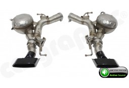 """Echappement sport look M550d  """"Active Sound System """" CarGraphic pour Bmw Série 5 525d / 530d / 535d + X-drive (F10/F11)"""
