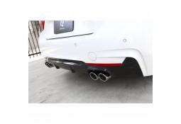 Diffuseur arrière en carbone 3DDesign 4 sorties pour Bmw Série 4 (F32/F33/F36) Pack M