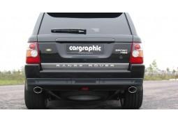 Echappement sport Inox CarGraphic pour Range Rover Sport 2,7 / 3,0 TDV6 / SDV6 (2005-2013)