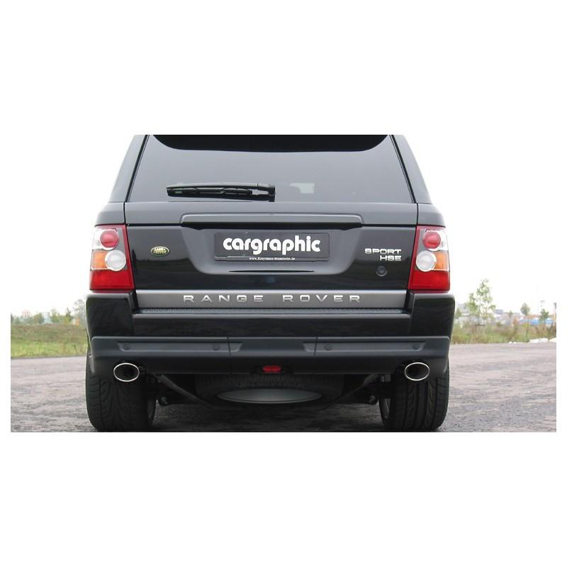 echappement sport inox cargraphic pour range rover sport 3 6 tdv8 suprcars. Black Bedroom Furniture Sets. Home Design Ideas