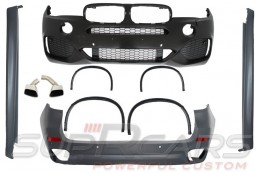 Kit carrosserie look Pack M Sport pour Bmw X5 (F15)