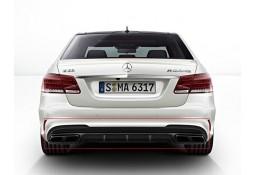 Diffuseur arrière + embouts échappements E63 AMG pour Mercedes Classe E Pack AMG (W212 2013-)