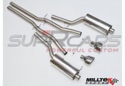 Ligne d'échappement Cat-Back MILLTEK SPORT pour Audi RS6 C5 V8 Bi-Turbo (2002-2004)
