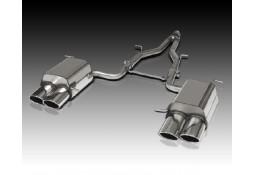 Echappement sport inox PIECHA pour Mercedes SLK 200 (R171)