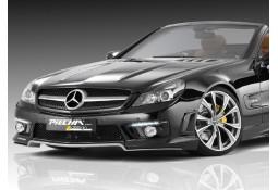 Lame de spoiler avant Avalange RS PIECHA pour Mercedes SL 63 AMG / 65 AMG R230 Facelift (03/2008-03/2012)