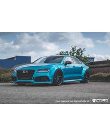 Kit carrosserie Prior Design PD700R WideBody pour Audi A7 / RS7 (C7)