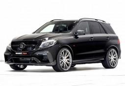 Spoiler avant BRABUS en Carbone pour Mercedes GLE 63 AMG (W166)