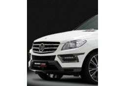 Extensions de pare-chocs avant Brabus On-Road pour Mercedes ML (W166) sans Pack AMG