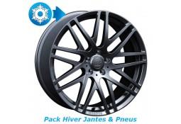 """Pack HIVER jantes et pneus BRABUS Monoblock F en 8,5x18"""" pour Mercedes Classe A W176 & CLA C/X117"""