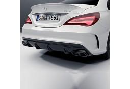 Diffuseur Facelift + embouts d'échappement BLACK 45 AMG pour Mercedes CLA (C117) Pack AMG (2014-)