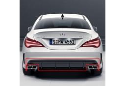 Diffuseur Facelift + embouts d'échappement 45 AMG pour Mercedes CLA (C117) Pack AMG (2014-)