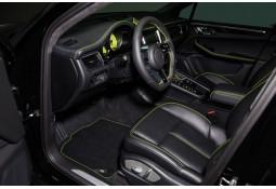 Tapis en velours TECHART Porsche Macan (95B) 2014-