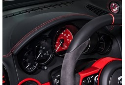 Fonds de compteurs TECHART Porsche Cayenne (2015-)