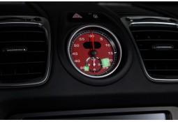 Fond de compteur Sport Chrono TECHART Porsche Cayman / Boxster 981 (2012-)