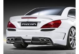 Pare-chocs arrière Avalange GT-R PIECHA pour Mercedes SL R231 (03/2012-)