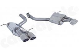 Echappement Sport  CARGRAPHIC pour Maserati Quattroporte 4,2 / 4,7
