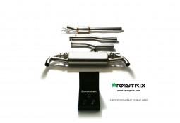 Ligne d'échappement inox Cat-Back ARMYTRIX à valves pour Mercedes GLA45 AMG (X156) (2013-)