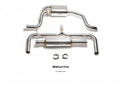 Ligne d'échappement sport inox Cat-Back ARMYTRIX à valves pour Golf 7 GTI (MK7) (2013-)