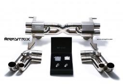 Ligne d'échappement Cat-Back Titane ARMYTRIX à valves pour Audi R8 V10 5,2 FSI (2009-2012)