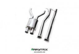 Y-pipe sport inox ARMYTRIX pour Bentley Continental GT / GTC (2011-)