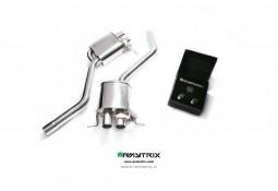 Silencieux d'échappement sport inox ARMYTRIX à valves pour Bentley Continental GT SPEED (2012-)