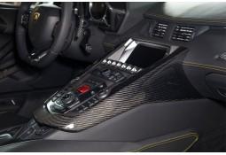 Recouvrement Carbone Console Centrale NOVITEC Lamborghini AVENTADOR (+ Roadster)