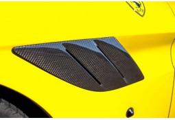 Prises d'Air Latérales Avant Carbone NOVITEC Ferrari California T