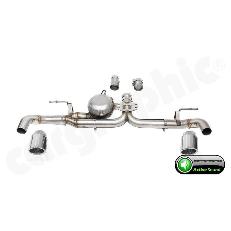 echappement active sound system bmw x6 30d 35d 40d e71