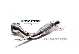 Descente de turbo avec Suppression de catalyseurs ARMYTRIX pour Mini Cooper S F56 (2014-)