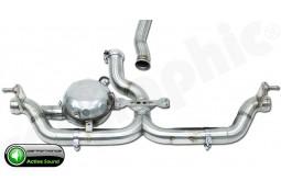 """Echappement sport """"Active Sound System """" CarGraphic pour Porsche Cayenne Diesel V6 (958)(-2015)"""