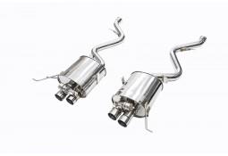 Silencieux d'échappement Inox à valves IPE INNOTECH F1 BMW M3 (E90,E92,E93) (2007-2013)