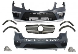 Kit carrosserie look GL63 AMG pour Mercedes GL (X166) (-06/2016)