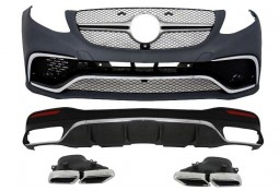 Kit carrosserie look GLE63 AMG pour Mercedes GLE SUV (X166)(2015-) (Pack AMG)
