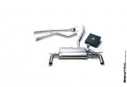 Ligne d'échappement inox Cat-Back ARMYTRIX à valves pour Mercedes Classe A 250 2WD (W176) (2012-2015)