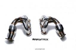 Collecteur avec catalyseurs sport inox ARMYTRIX Porsche Cayman / Boxster S / GTS  / GT4 / SPYDER (981) (2012-2016)