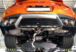 Echappement sport Inox à valves TUBI STYLE Nissan GT- R 35 (2017-)