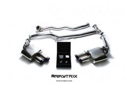 Ligne d'échappement Cat-Back ARMYTRIX à valves pour Audi A5 Coupé/Cabriolet 1,8 TFSI / 2,0 TFSI / 2,0 TFSI Quattro (2008-2015)