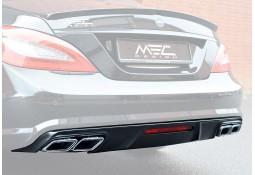 Diffuseur arrière MEC DESIGN + embouts échappement AMG pour Mercedes Classe CLS (C218) Pack AMG