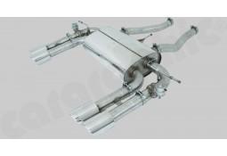 Silencieux Arrière Inox à valves CarGraphic® Jaguar XK R 5,0l