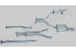 Ligne d'échappement Cat-Back Inox à valves CarGraphic® Bentley Flying Spur (W12)