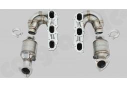 Collecteurs d'échappement + Catalyseurs Sport CarGraphic® Porsche Cayman / Boxster / S / R / Spyder 987 (Ph.2)