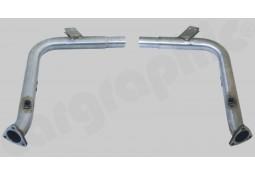 Suppression de Catalyseurs Inox CarGraphic® Porsche Boxster/S (986) 2,7l/3,2l